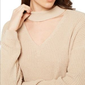 Zara chocker sweater